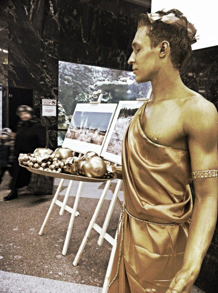 Живая Статуя - бог Дионис - фото 2011083 Шоу-балет Cardinal Pro