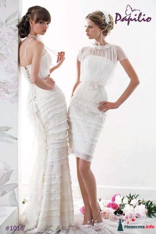 """свадебное платье """"Эгера"""" (фирма Papilio) - фото 160823 Свадебный салон """"Нефертити"""""""