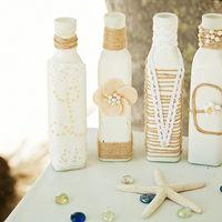 свадьба в доминикане, доминикана. декор, бутылочки,