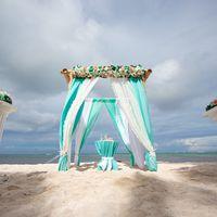 свадьба в доминикане, домникана, приватный пляж, свадьба на пляже