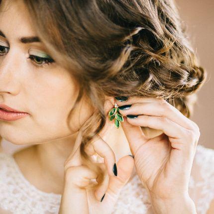 Макияж для невесты с ярким акцентом