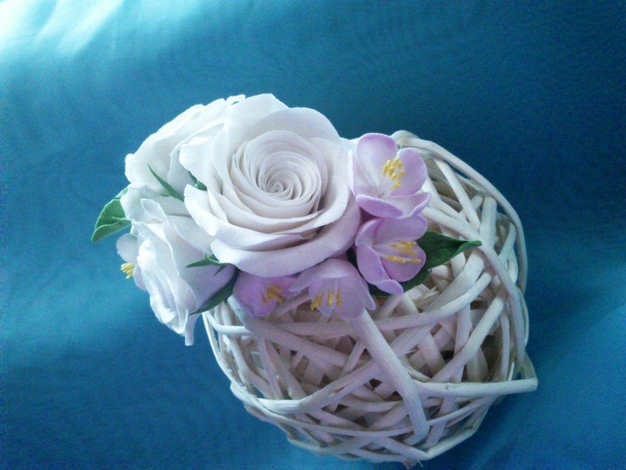 """Фото 6690694 в коллекции Мои фотографии - """"Венерин башмачок"""" - цветочные аксессуары"""