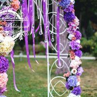 Свадебная арка полукруглая - аренда