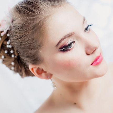 Свадебный фантазийный макияж