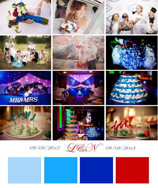 """Фото 2327170 в коллекции Цветовые палитры с наших свадеб - Свадебное агентство """"Black&White"""""""