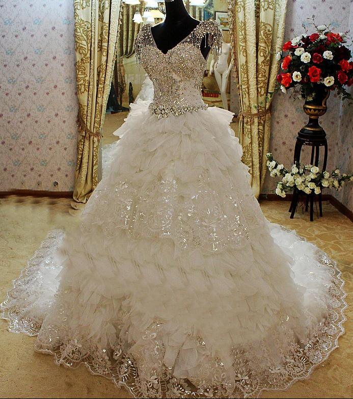 """платье Императрица цена 20000 руб - фото 2036406 Ателье свадебных платьев """"СамаЯ"""""""