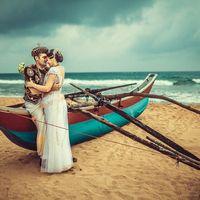 Свадьба на райском острове Шри-Ланка