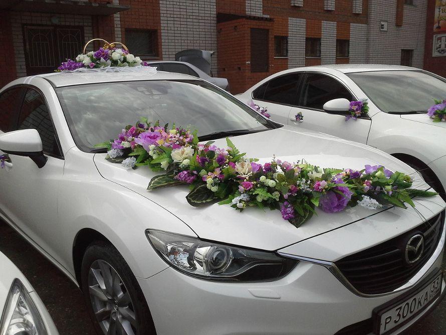 Фото 2040894 в коллекции Мои фотографии - Свадебный кортеж Mazda 6