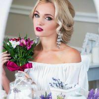 Макияж и прическа невесты
