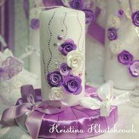 """Семейный очаг """"В фиолетовом цвете"""""""