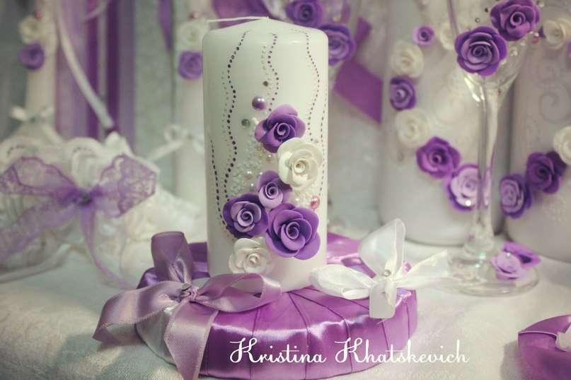 """Семейный очаг """"В фиолетовом цвете"""" - фото 2754189 Кристина Хацкевич - свадебный декоратор"""