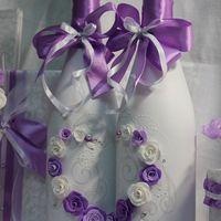 """Свадебное шампанское """"В фиолетовом цвете"""""""