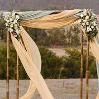 оформление свадебной арки на выездную регистрацию