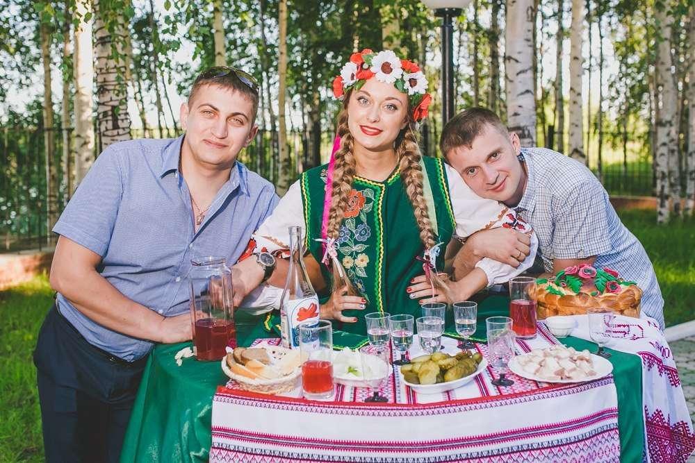 Живой стол в украинском стиле - фото 17541244 Фионова Ирина - ведущая событий