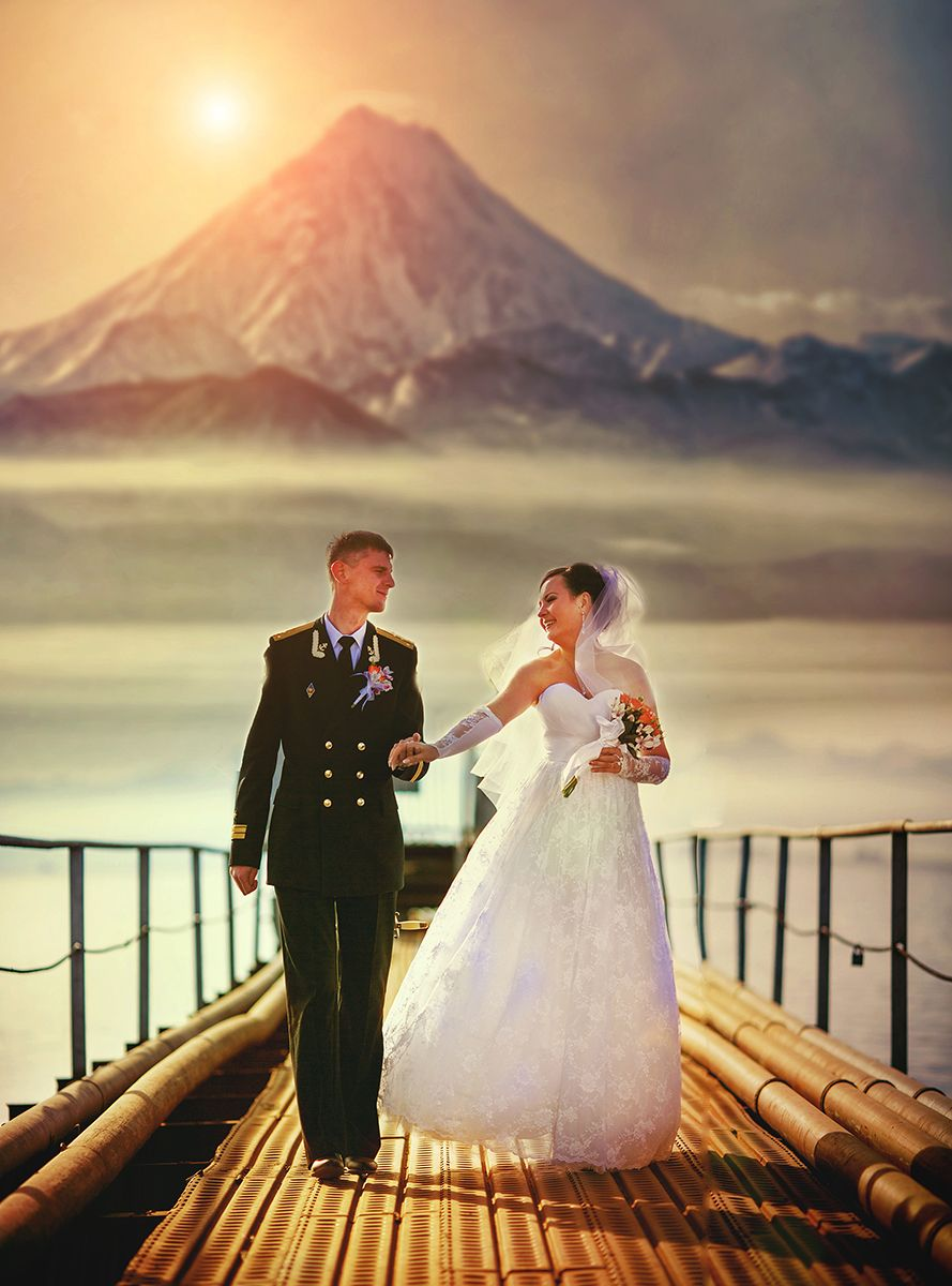 Фото свадьбы на камчатке