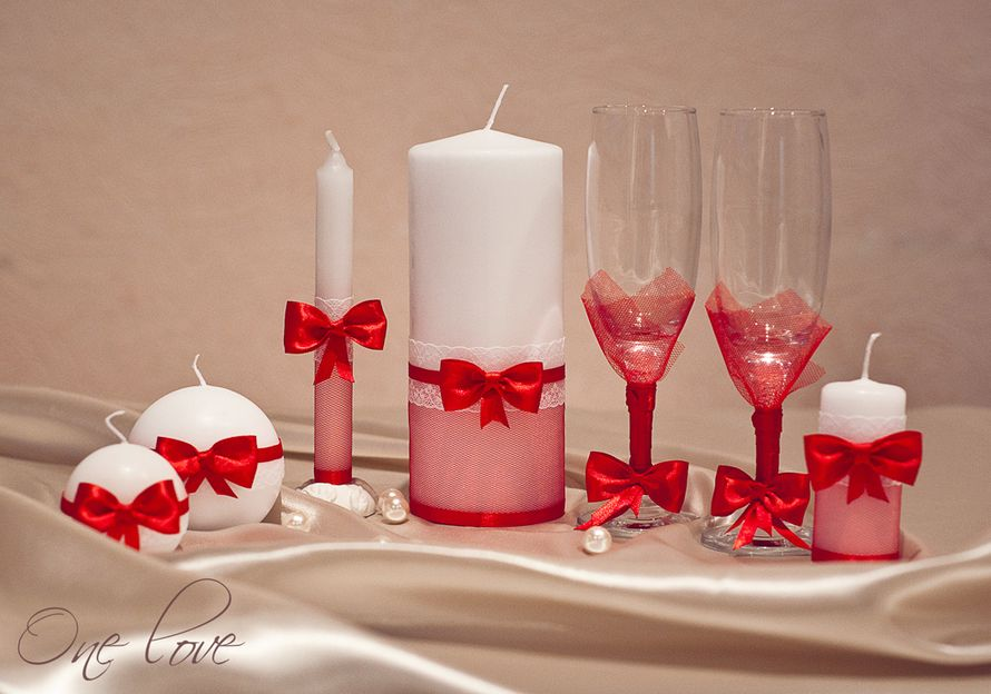 Сделать свечи на свадьбу