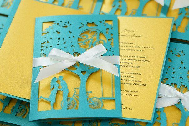 Оформление пригласительных на свадьбу своими руками фото