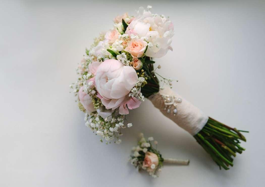 Свадебный букет для миниатюрной невесты, для