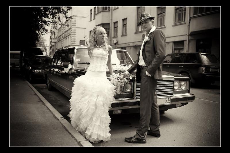 Ретро автомобили - фото 2089606 Свадебное агентство Небо на двоих