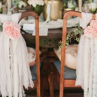 декор из бумаги на свадьбу