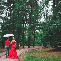свадебная съемка в красном