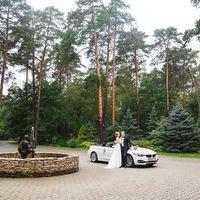 осенняя свадьба в москве, машина BMW