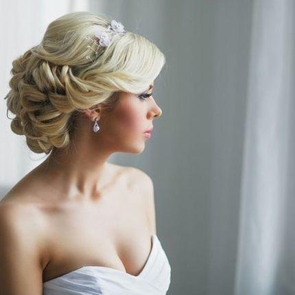 Свадебные причёски макияж