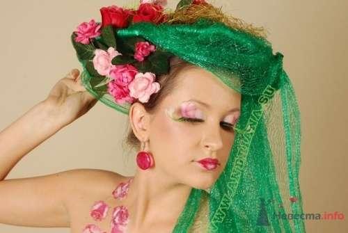 Женщина-Цветок - фото 18293 Художник-визажист Андриана Юревич