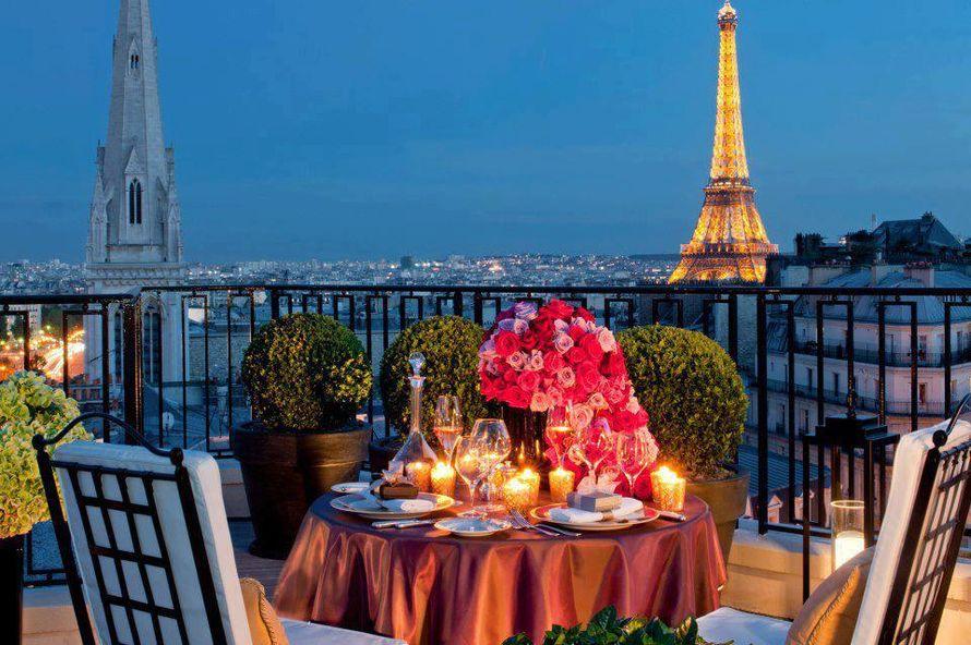 Шикарный романтический ужин - фото 1946075 Mariage Magique, организация свадеб в Париже