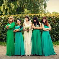 невеста и ее команда