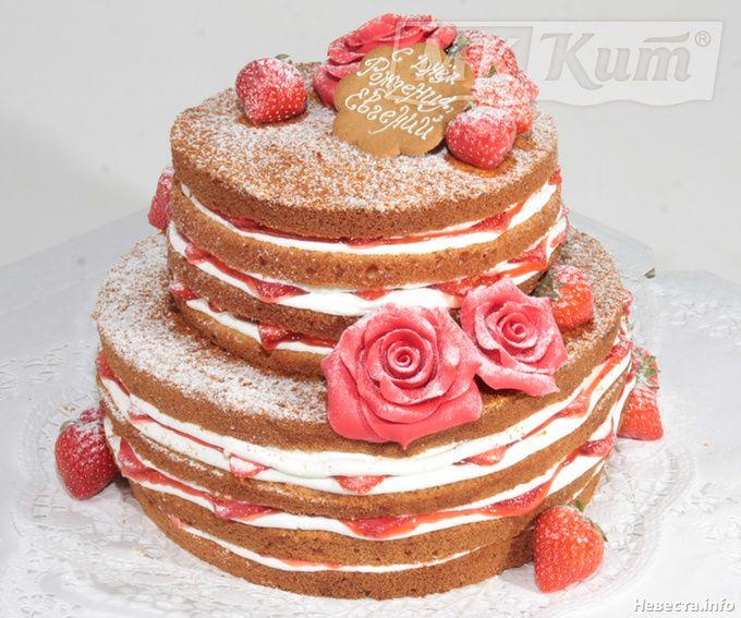 Торт без мастики фото на день рождения мужчине