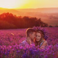 LoveStory в Крыму на лавандовом поле