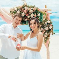 свадебная церемония в Нячанге Вьетнам Джангл Бич, Jungle Beach wedding Nha Trang