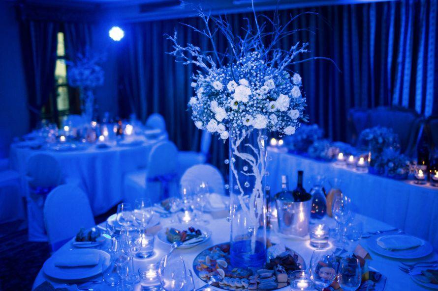 """Зимняя свадьба в Праге. Свадебный декор в зимнем стиле. - фото 3800409 """"Luxe svadba"""" - свадьба в Чехии"""