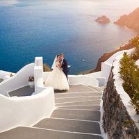 Свадьба На Острове Санторини Алены и Миши