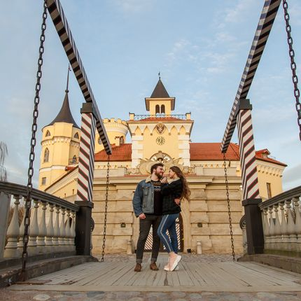 Организация свадьбы в замке для двоих