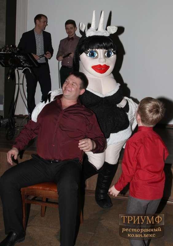 Ростовая кукла-стриптизерша Коза-дереза - фото 5001925 Праздничное агентство Шик