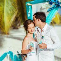 Свадебная церемония на острове Саона в Доминикане