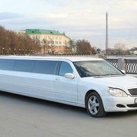 Mercedes S500, 220 кузов, белый лимузин