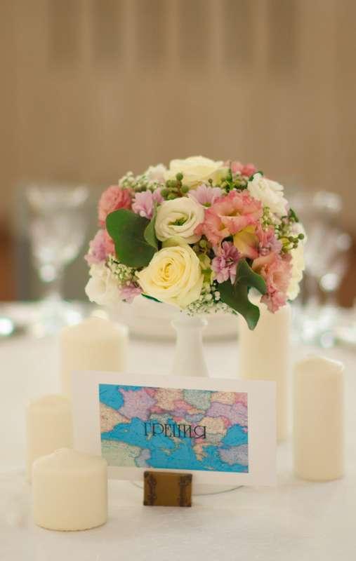 """Оформление свадьбы в стиле """"Путешествия"""" - фото 3282371 Студия декора """"I do"""""""