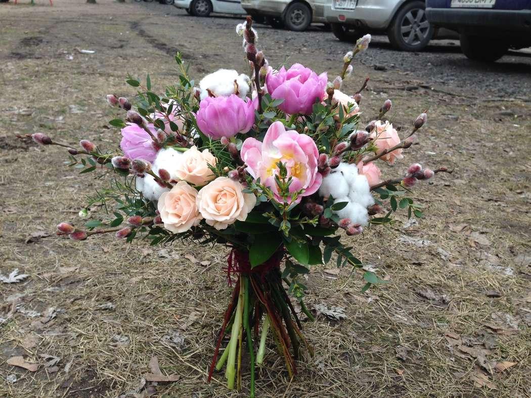 Подарочный букет на 8 марта - фото 2330928 Флорист Наталья Жукова