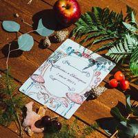 #свадьбаБелоснежки приглашение на свадьбу Екатерины и Михала  Организация  -  Фото - Валерия Агларова