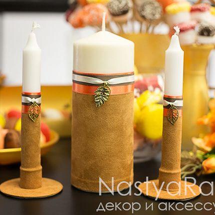 Набор свечей осень