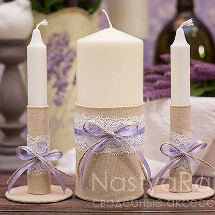 Набор свечей для семейного очага прованс