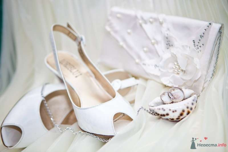 Мои свадебные туфельки, сумочка и колечки - фото 48887 Valery
