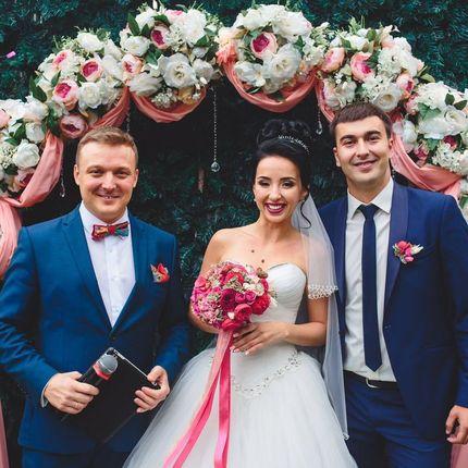 Проведение свадьбы + Dj, 6 часов + 1 час welcome