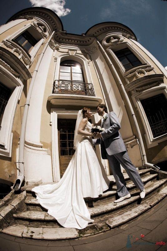 """фотограф постарался - из домов выходили Пизанские башни! Зато красиво - фото 70544 Funday - свадебное агентство парка """"Сокольники"""""""