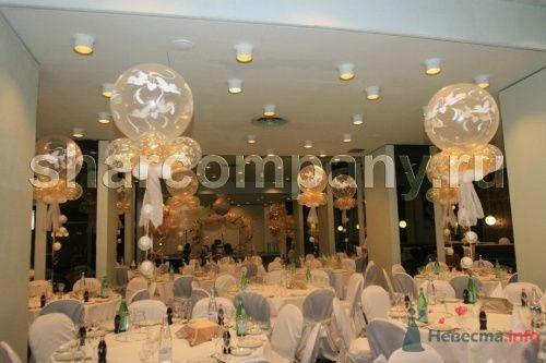 """Большие гелиевые шары. - фото 15163 Компания """"Шар"""" - оформление"""