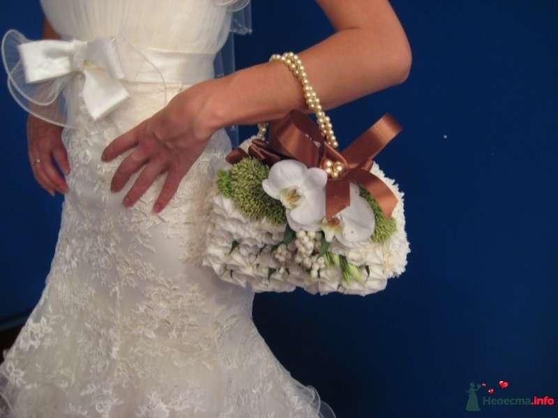 Мастер класс букет живых цветов для невесты
