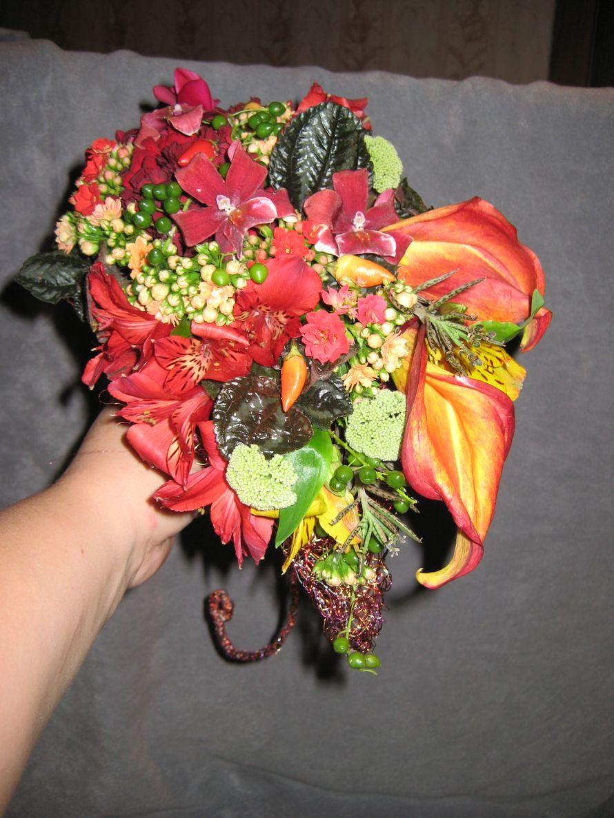 Фото 1026091 в коллекции Букет невесты - Цветочная мастерская Любови Ветровой